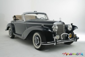 1955 Mercedes-Benz 300 S Cabriolet by Pininfarina 11