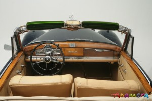 1955 Mercedes-Benz 300 S Cabriolet by Pininfarina 27