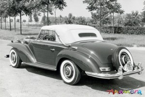 1955 Mercedes-Benz 300 S Cabriolet by Pininfarina 3
