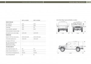 Mercedes-Benz-LAPV-5.4 Specifications 1