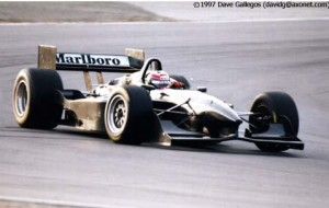 Mercedes-Benz Penske PC27 9 test car 1