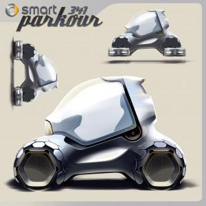 Smart 341 Parkour Concept 5