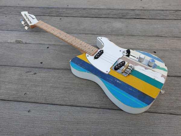 Pixelator tenor electric ukulele