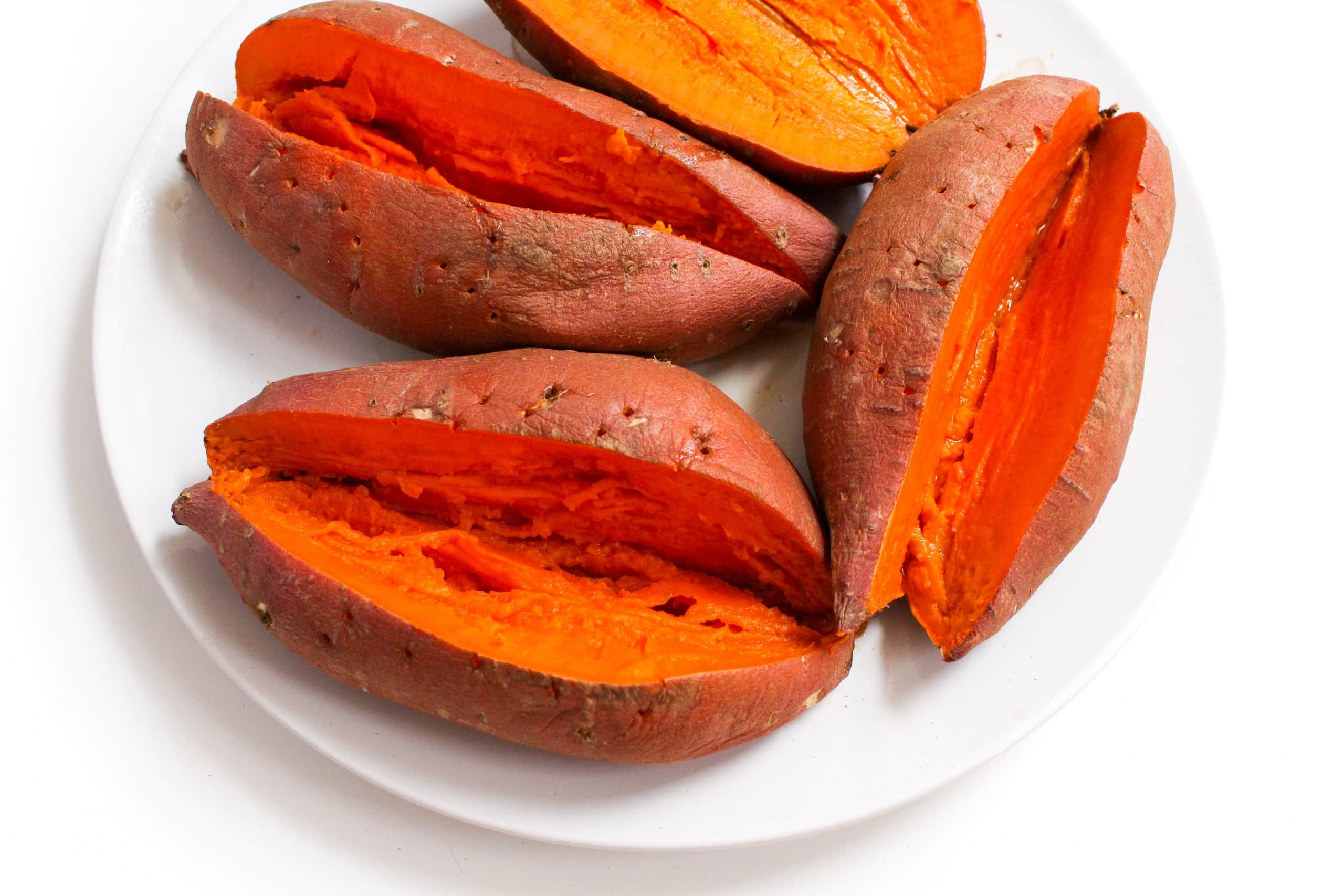 how to cook a sweet potato in the