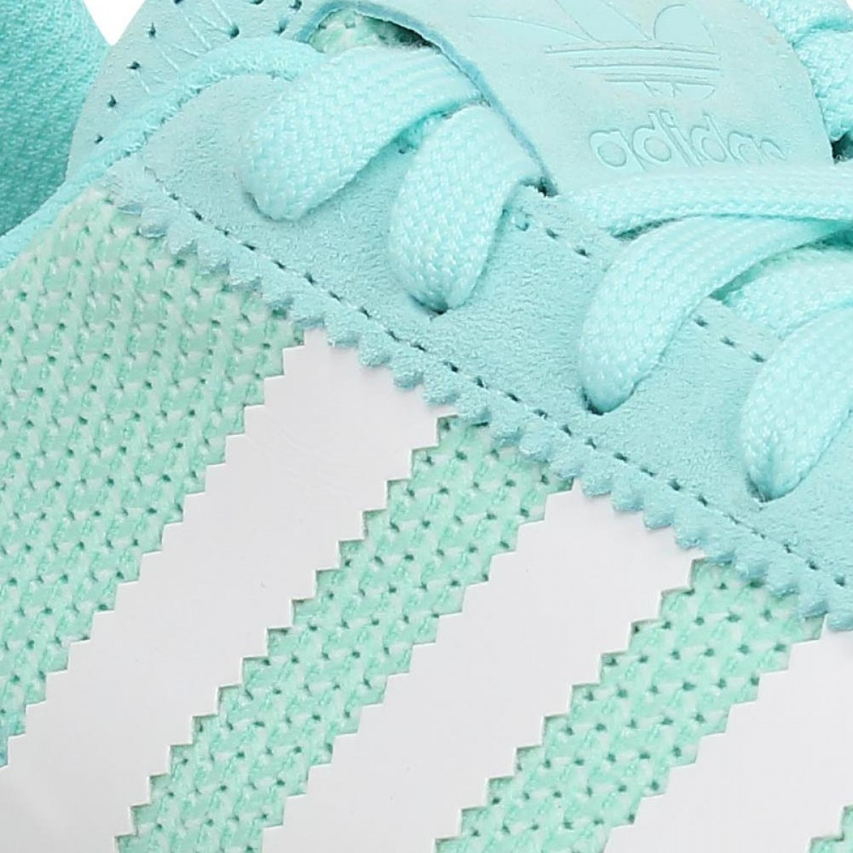Adidas Flb Runner Toile Femme Vert Femme Fanny Chaussures