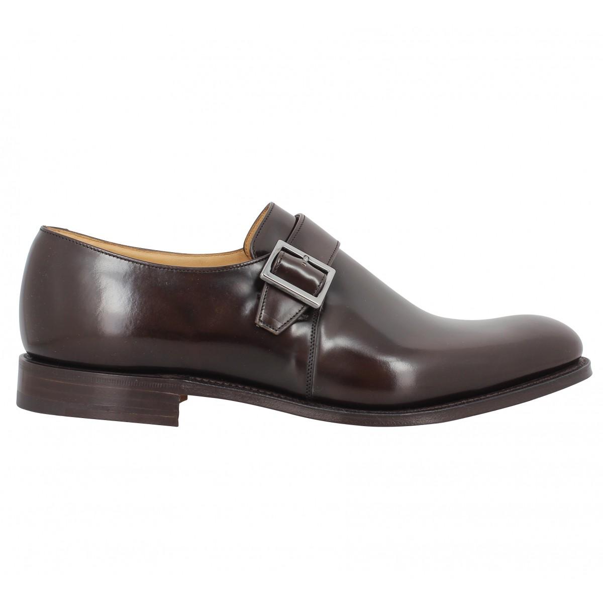 Church S Lisbon Cuir Homme Marron Homme Fanny Chaussures