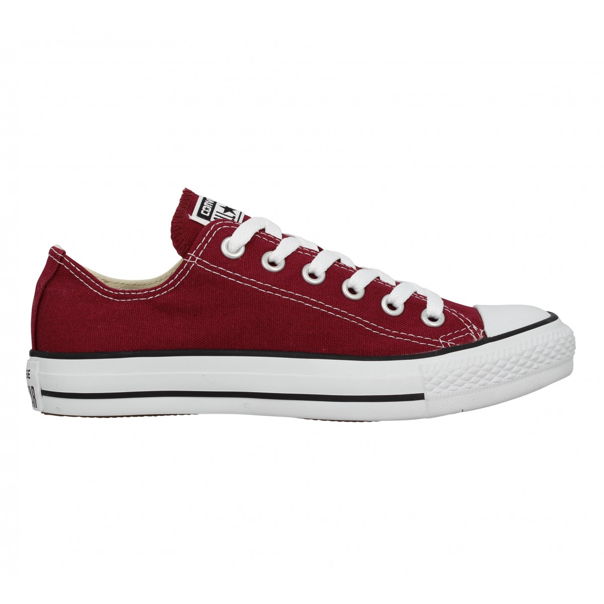 Converse Chuck Taylor All Star Toile Femme Bordeaux