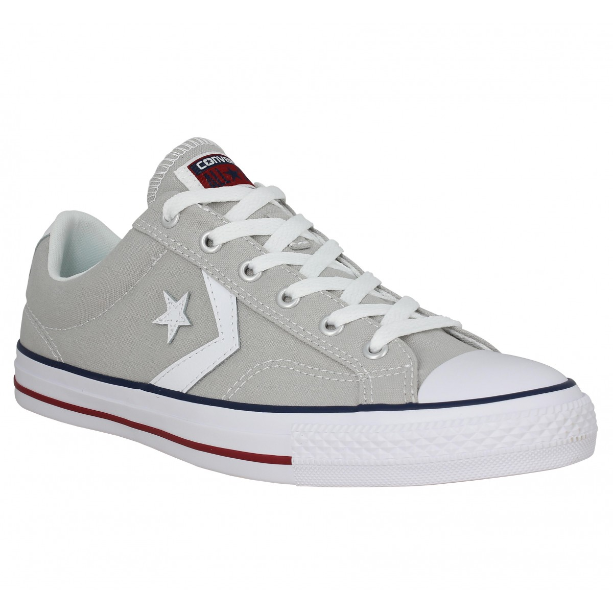 Converse Star Player Toile Homme Gris Homme Fanny Chaussures