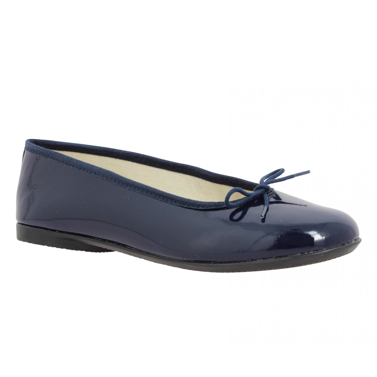 Hirica Zazie Vernis Femme Marine Fanny Chaussures