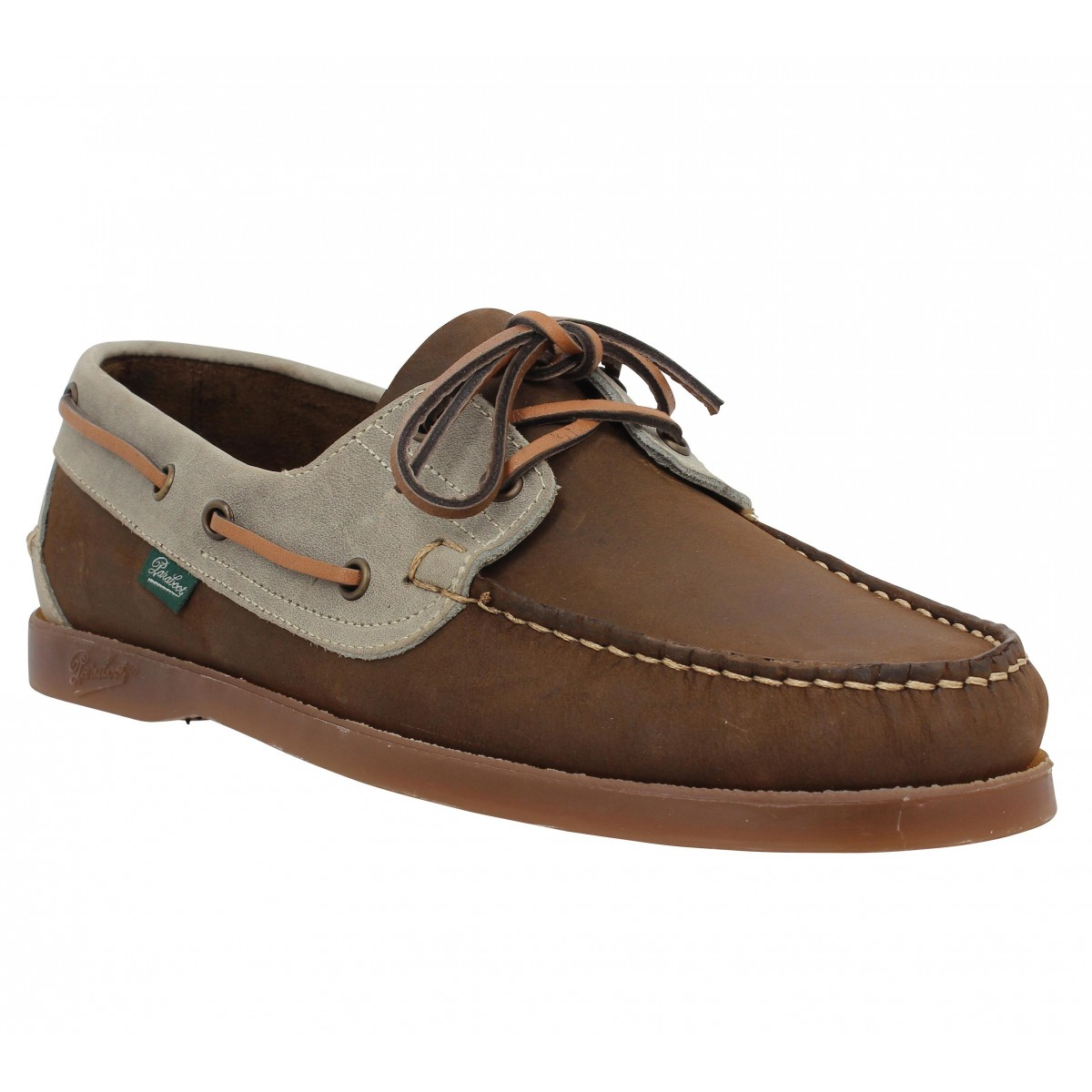 Paraboot Barth Velours Homme Marron Gris Fanny Chaussures