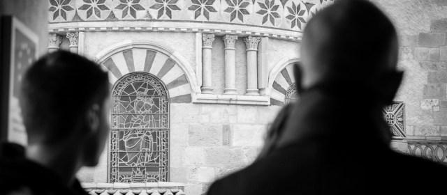 Visite guidée de la basilique Notre-Dame-du-Port organisée par l'association Espace Delille