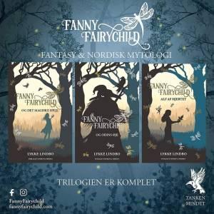 Køb hele fantasy-trilogien om Fanny Fairychild