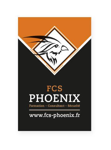 Carte de visite Phoenix Recto