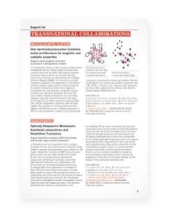 Rapport Fondation pour la recherche en Chimie - page9