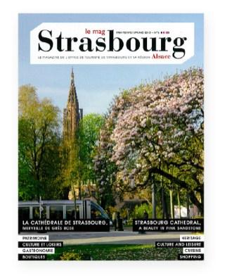 Magazine Office de tourisme de Strasbourg couverture