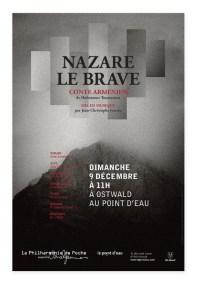 Affiche Philharmonie de Poche Nazare Le Brave