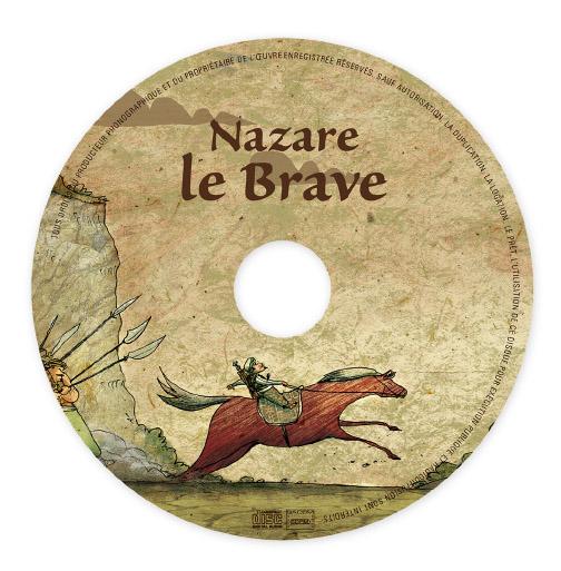 Livre disque Nazare Le Brave Disque