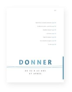Livre Les âges de la vie humaine - Pages Donner