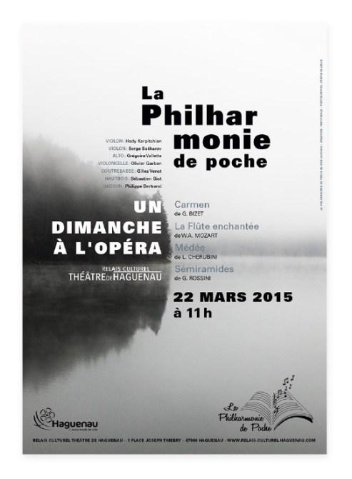 Affiche Philharmonie de Poche Un dimanche à l'opéra