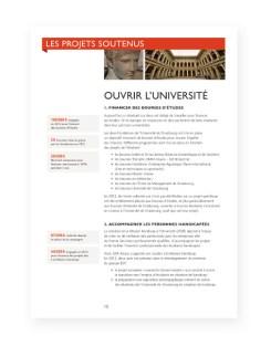 Rapport 2012 Fondation Universite Strasbourg - 7