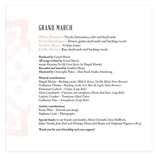Grand March Album 02 © Fanny Walz