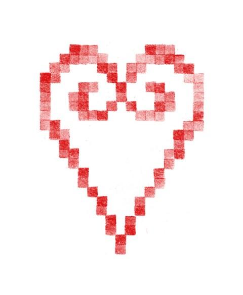 Cœur brodé 3