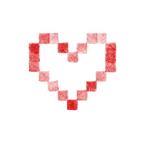 Cœur brodé 4