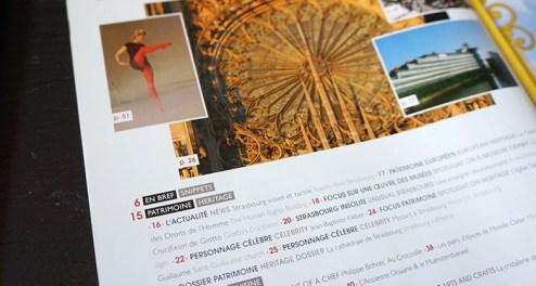 Le magazine de l'Office de Tousirme de Strasbourg et sa Région. Sommaire.