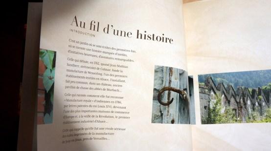 Au fil d'un regard - Wesserling - Sandrine Marbach - pages du livre
