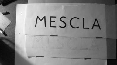 Croquis Logo Mescla Passion Patrimoine