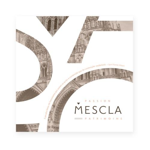 Plaquette Mescla Passion Patrimoine