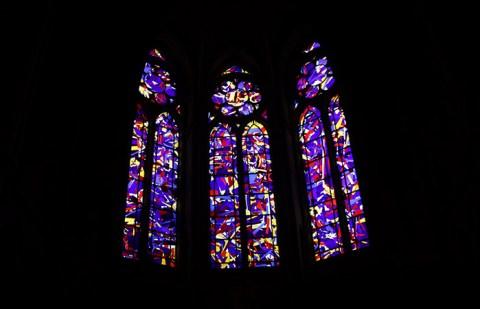 Vitraux à Reims