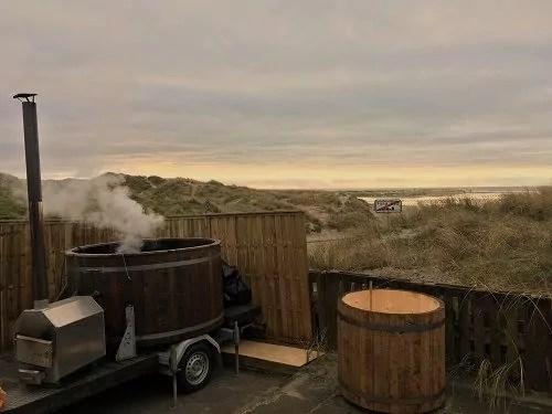 Mobile Sauna auf Fanø