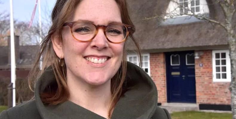 Fanøs Bürgermeisterin Sofie Valbjørn