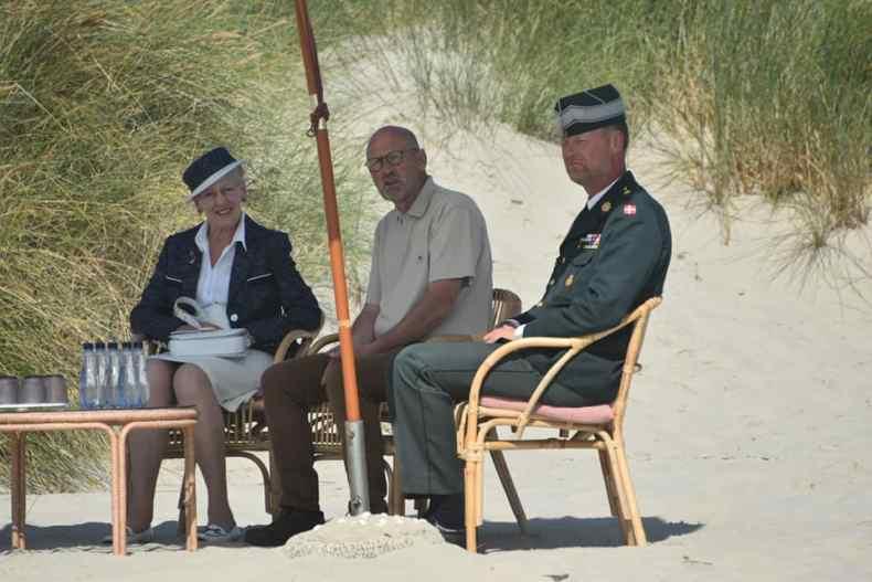 Dronningen Margrete am Fanø Strand
