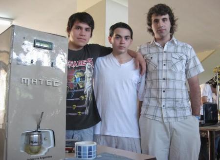 Matec, la máquina automática que prepara y ceba mates