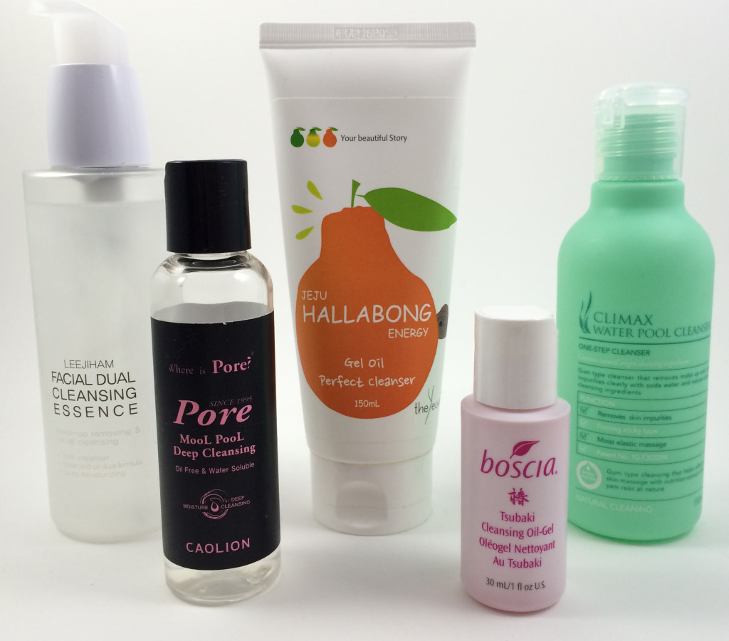 korean oil cleansers review gel-oil and pool cleansers