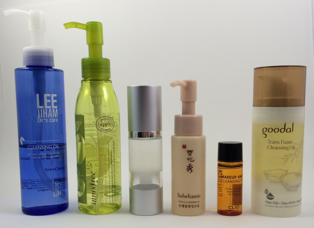 korean oil cleansers review oil cleansers