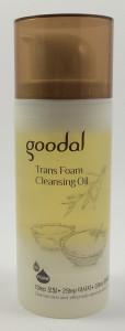 Goodal Trans Foam Cleansing Oil korean oil cleansers review