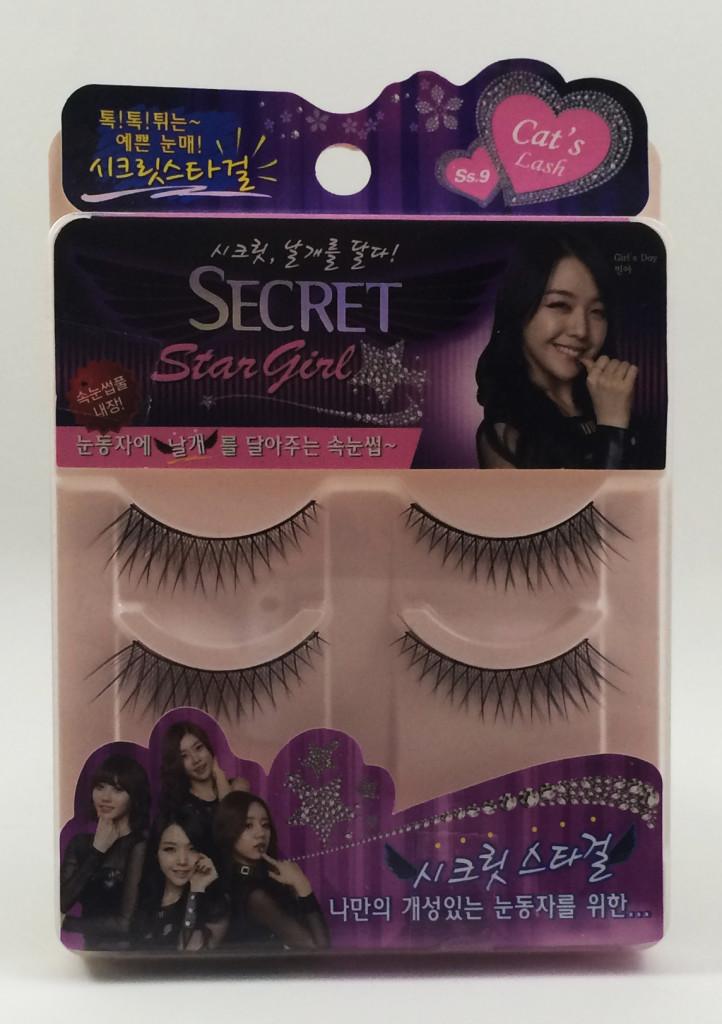 Girl's Day Secret Star Girl eyelashes