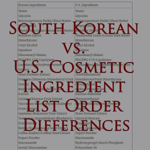 South Korean vs. U.S. Cosmetic Ingredient List Order Differences Blossom Jeju Pink Camellia Soombi Blooming Cream Review + Giveaway