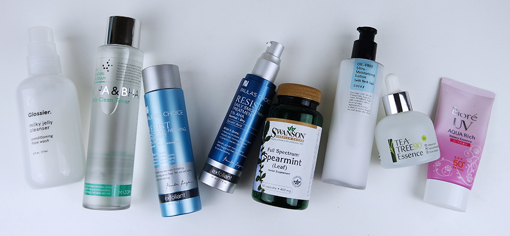 morning skincare routine for hormonal cystic acne