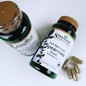 spearmint capsules for hormonal cystic acne