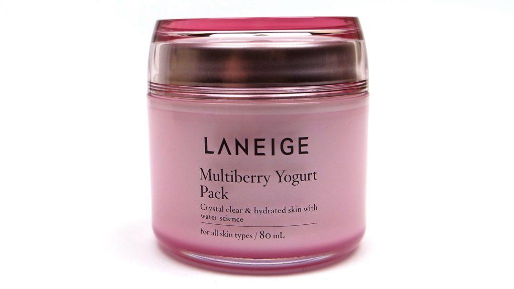 Laneige Multiberry Yogurt Repairing Mask Review