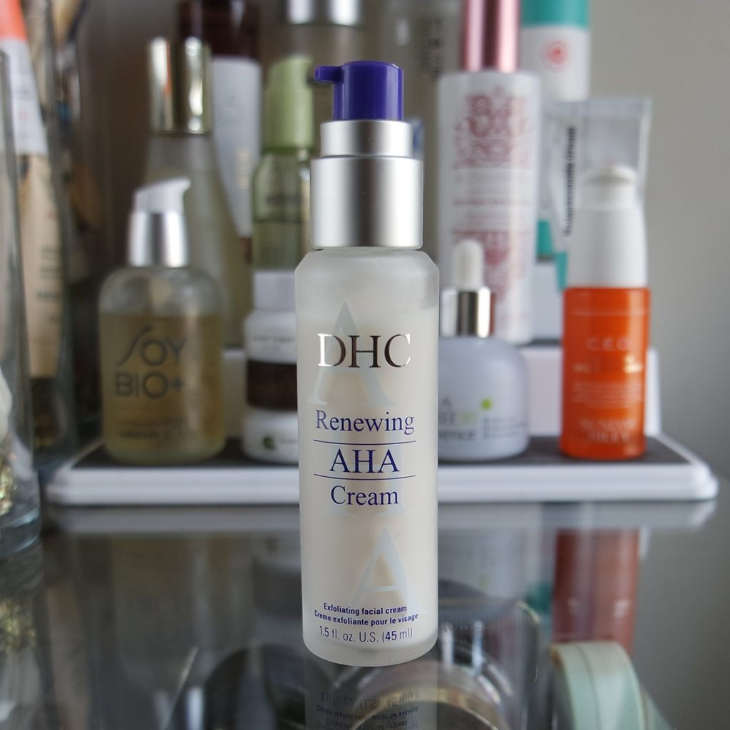 DHC Renewing AHA Cream The Hunt for a Good Genes Dupe: 17 Lactic Acid Reviews