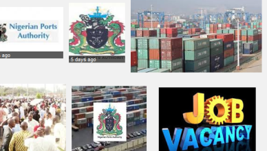 nigerian ports authority job recruitment