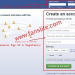 Facebook.com Sign Up