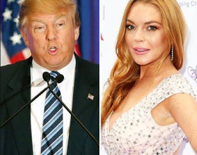 Lindsay Lohan wants Americans to support of Donald Trump