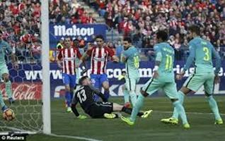 Atletico Madrid 1-2 Barcelona - Lionel Messi's winner