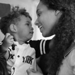 Alicia Keys marks International Women Day with lovely photo